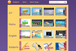 Primary Games Arena Fun site for teachers, parents, and kids featuring free  educational games for a range of curricullum areas.